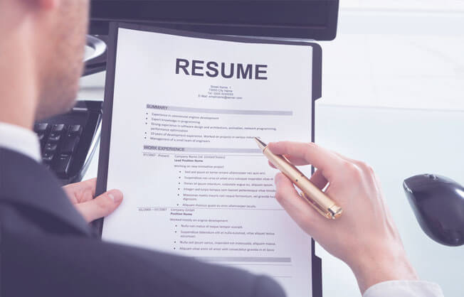 Refer the sample resumes through online for preparing a noticeable