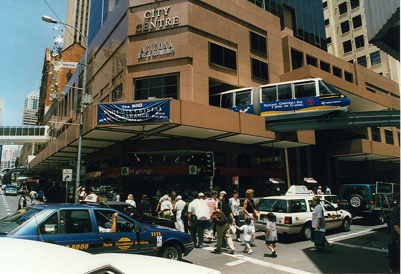 Sydney Monorail Photo Essay Page One Of Six