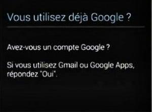 Créer un compte Google
