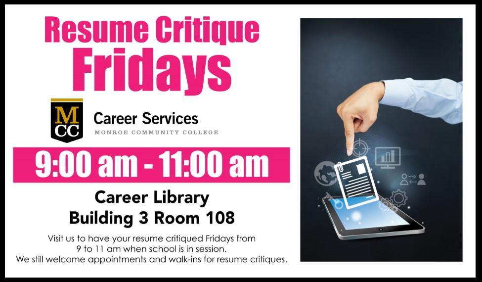 resume critique services