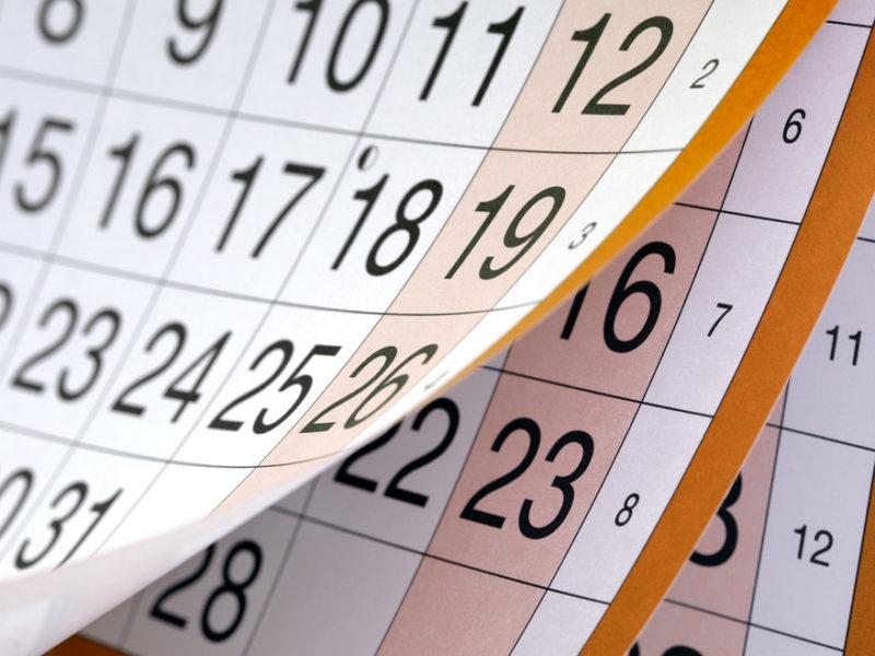 2018-2019 School Calendar \u2013 Approved \u2013 Monroe Central School Corporation