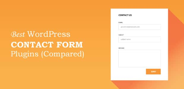 5 Best WordPress Contact Form Plugins for Small Businesses (2018)