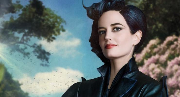 See Eva Green and Samuel L Jackson in Miss Peregrine's Home for Peculiar Children posters