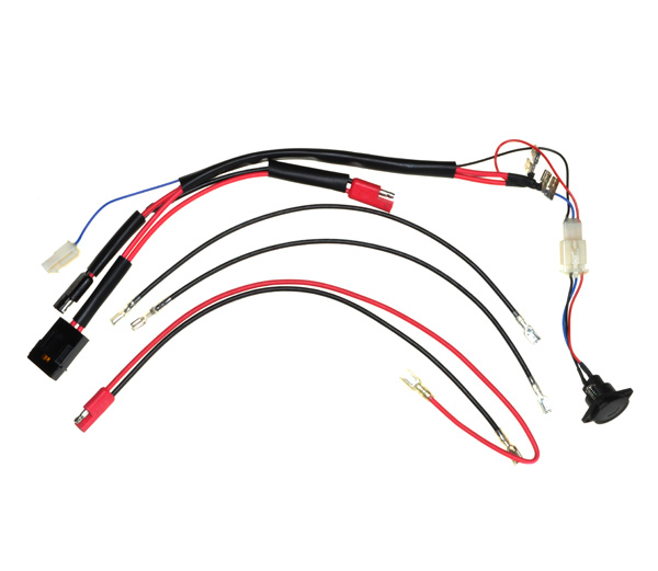 36 Volt Battery Wiring Harness with Charge Inhibitor for eZIP 1000