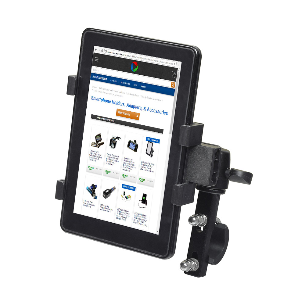 Universal Grip Tablet Holder for Mobility Scooters, Power