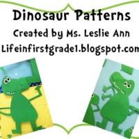 Friday Freebie:  Dinosaur Resources