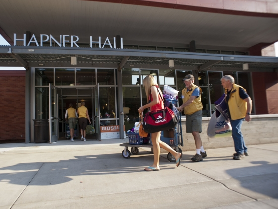 Honors College students design plan to improve Move-In Day