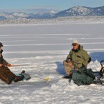 Captain&#8217;s Column: Change in Weather Improves Ice Fishing