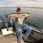 Kit's Tackle's Tips and Techniques for Post Spawn Fort Peck Walleye