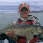 Catching Your Limit on Fort Peck Reservoir in the Loomis Fishing Report From
