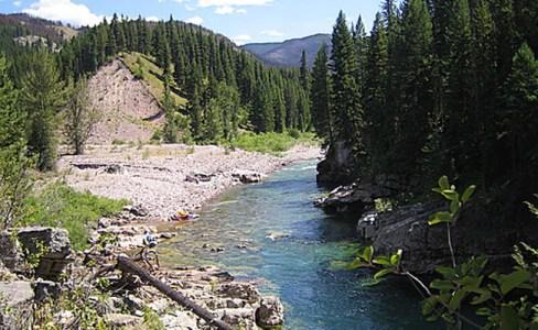 southfork flathead river