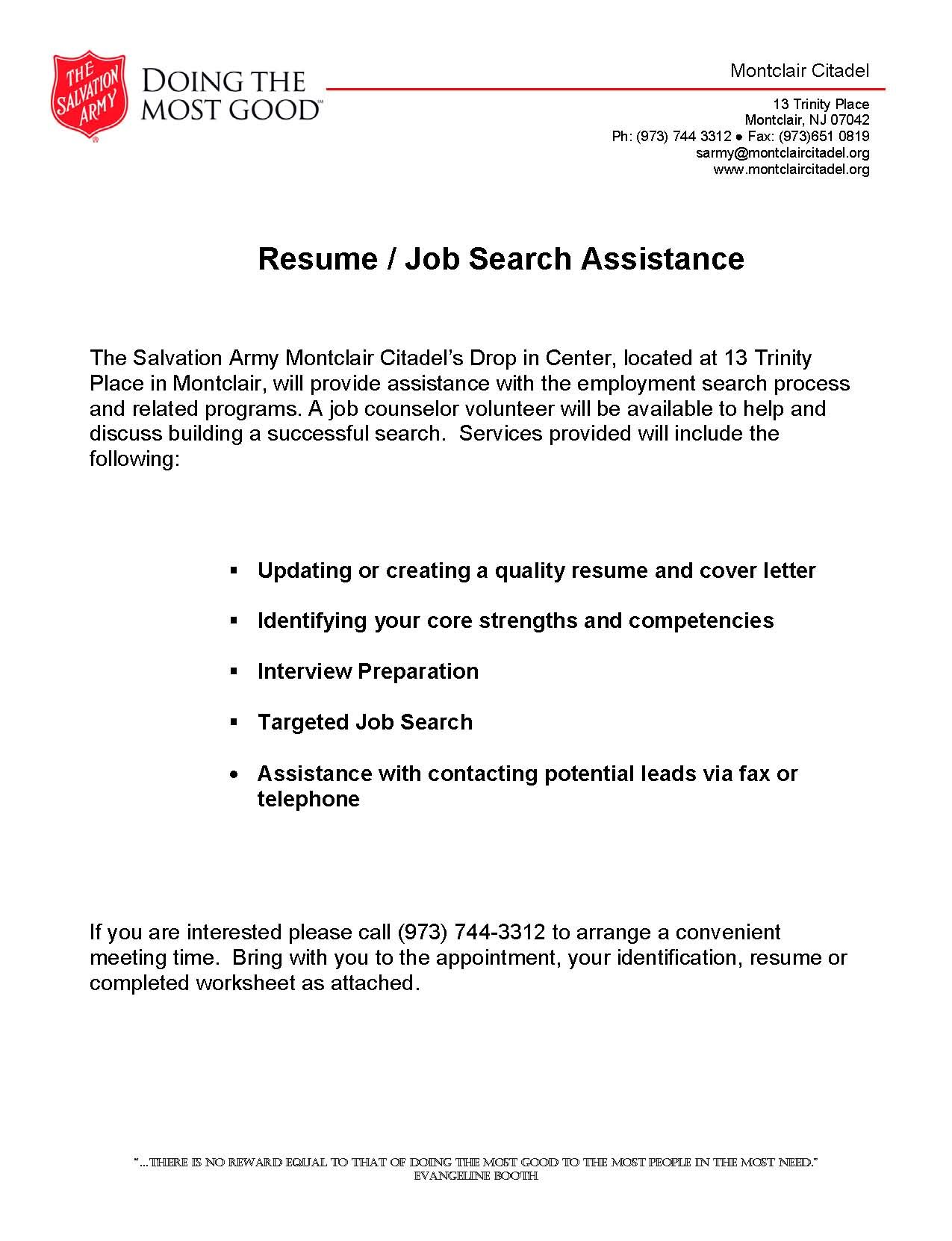 resume writing assistance resume builder resume writing assistance resume writing advice help monster salvation army job search resume writing assistance montclaircares