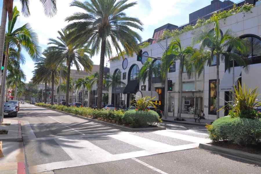 Rodeo Drive - Beverly Hills - Los Angeles - California di Claudio Leoni