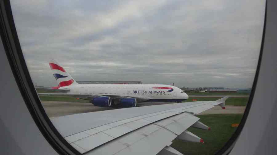 Heathrow airport - Londra - da A380 a A380