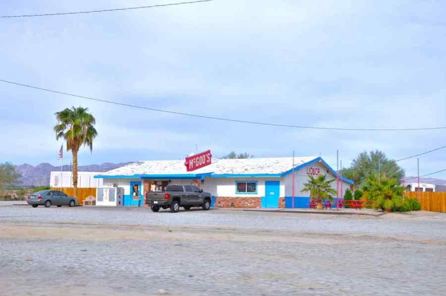 Desert Center -Interstate 10 - Arizona - di Claudio Leoni