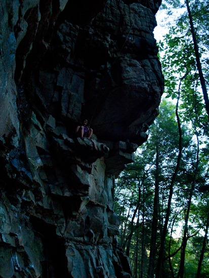 Climbing at The Obed - 09.24.2011 - 17.53.00