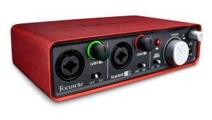 focusrite scarlet