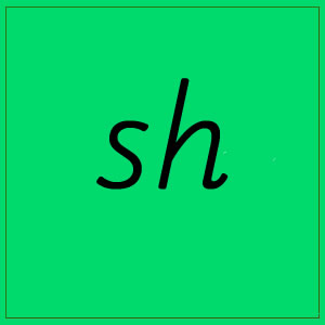 sh sound with letters