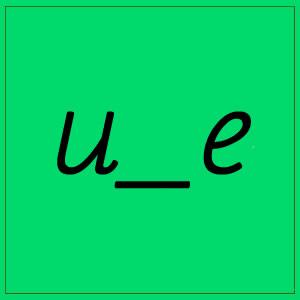 u-e sounds
