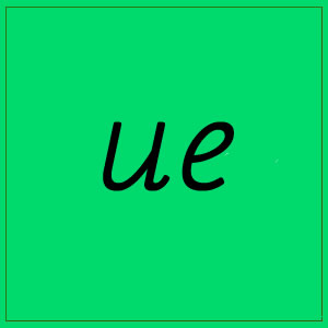 ue- sounds