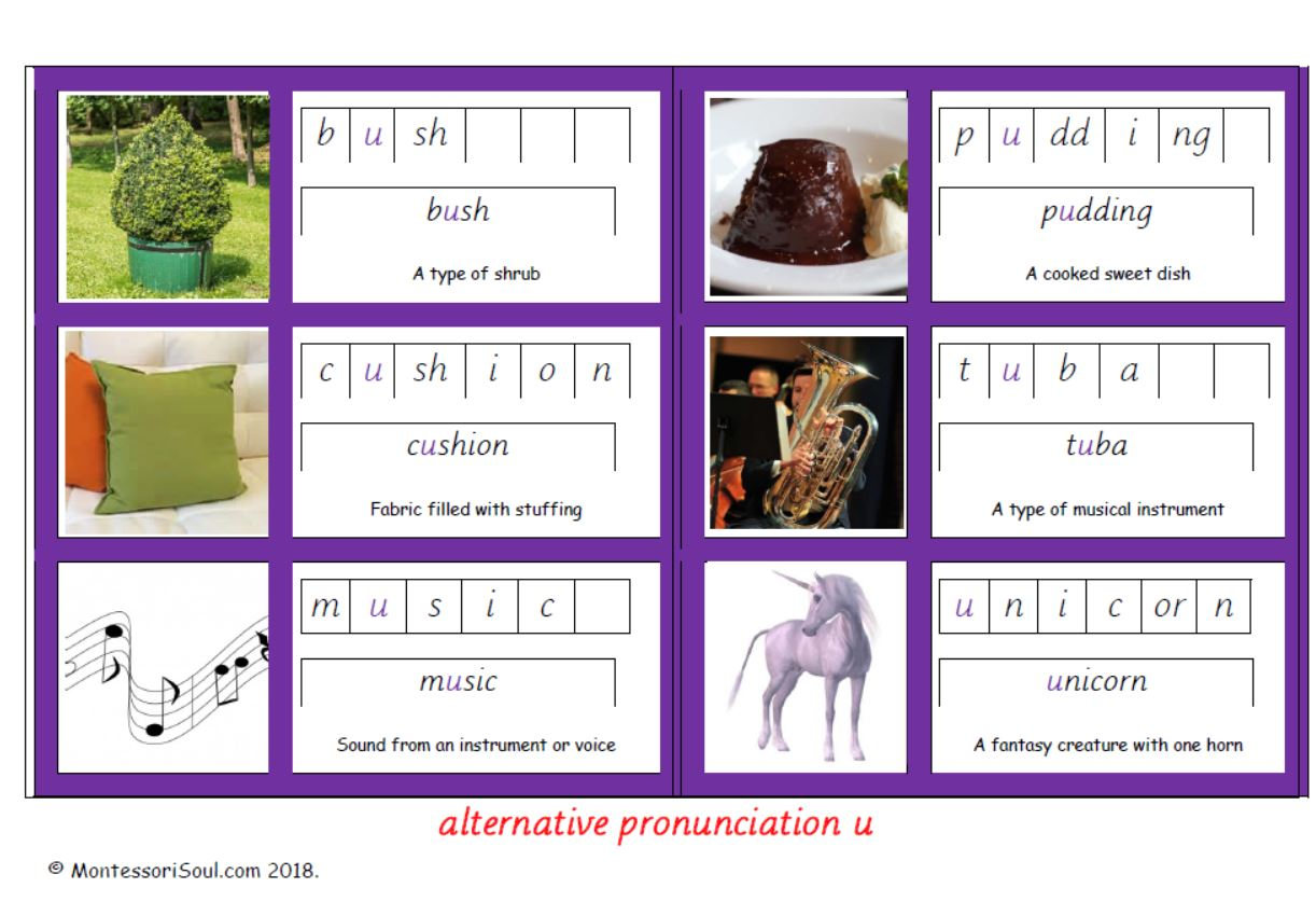 Alternative pronunciation of