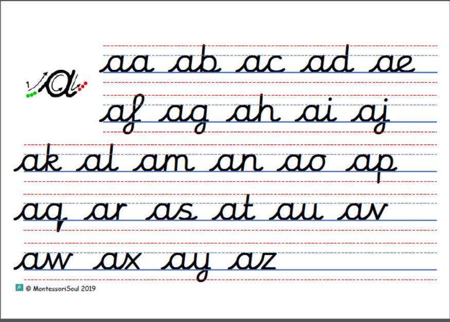 Full cursive letters join checker