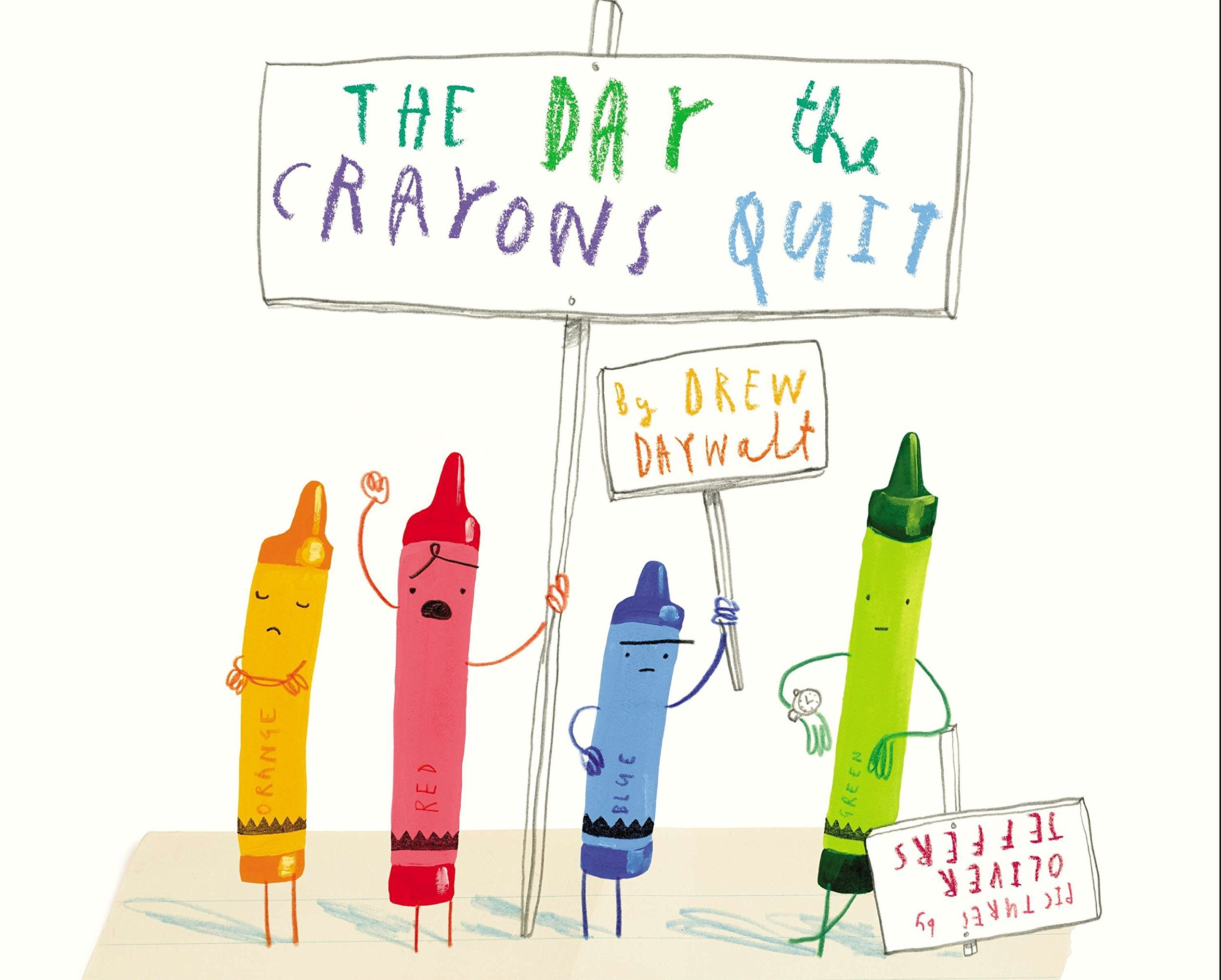 The Day the Crayons Quit Resources