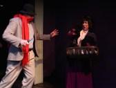The first crime - Stranger (Samuel Pollin) and Woman (Joy Gerst)