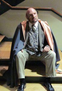 Dell Pendergrast as William Gillette