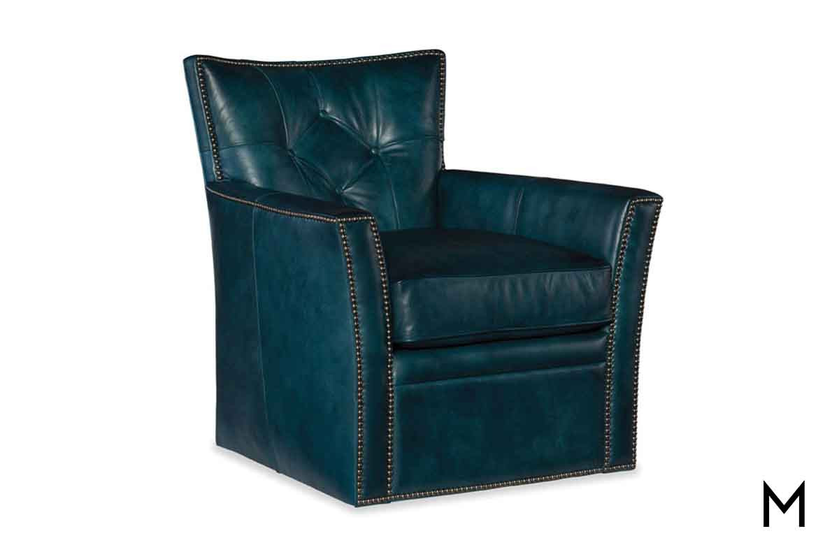 Tufted Back Leather Club Chair Decoration Sold Out Slate