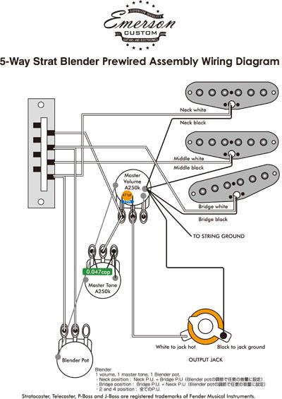 guitar input jack wiring mono