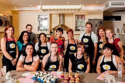 Taller con Alma Obregón de Cupcakes