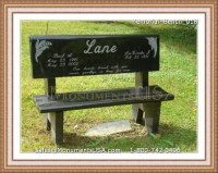 Monument Benches For Graves Pictures to Pin on Pinterest ...