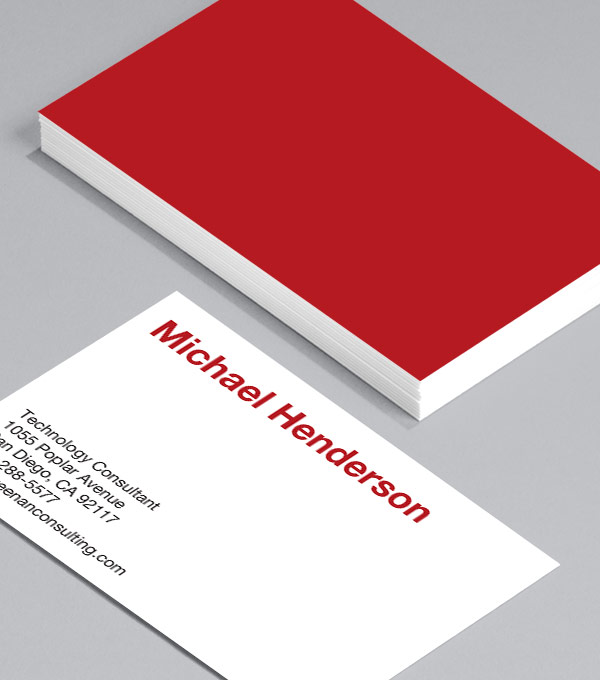 Browse Business Card Design Templates MOO (United States) - business card sample