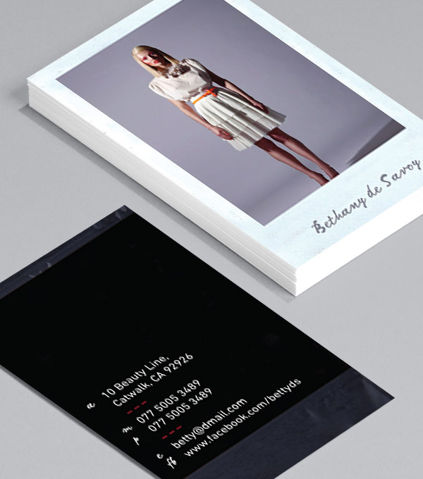 Browse Business Card Design Templates MOO (United States) - business card template design