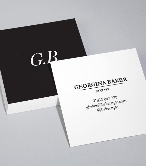 Browse Square Business Card Design Templates MOO (United States) - Buisness Card Template