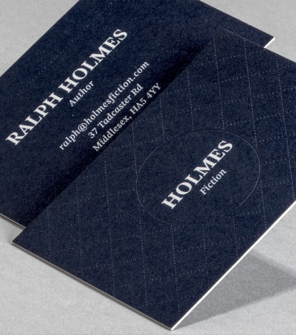 Browse Business Card Design Templates MOO (United States) - letterpress business card