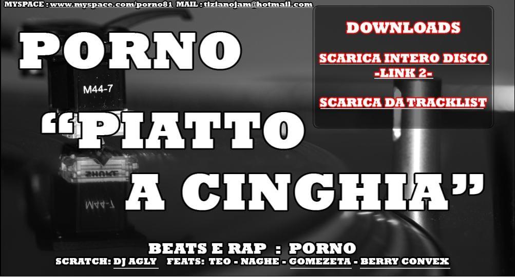"""""""Piatto a cinghia"""", l'album di Porno, gratis!"""