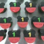 mickey mouse cupcakes jesse 1 jaar