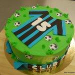 Club brugge taart 15 jaar
