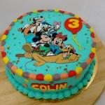 disney mickey mouse taart