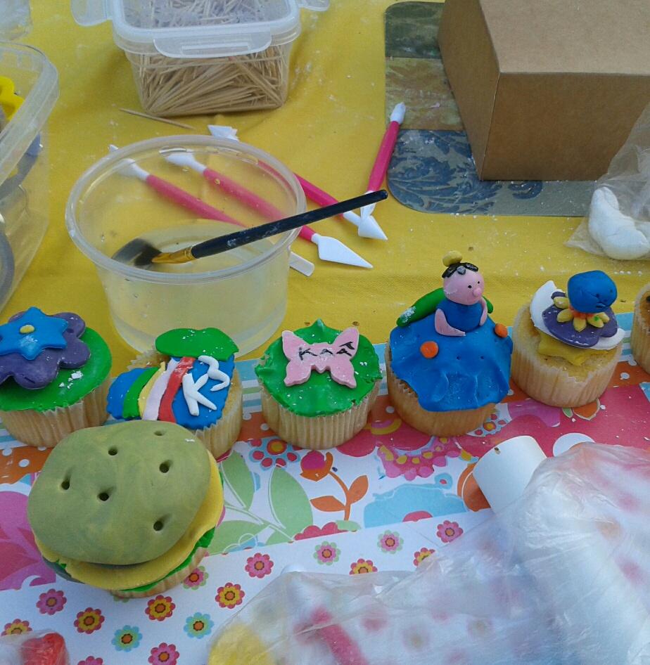 Kinderfeestjes Cupcakes Of Taartje Versieren Bij U Thuis