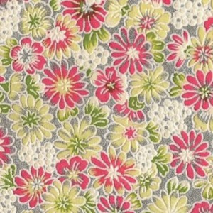 Origami Paper Pattern Free Download - Green Flower