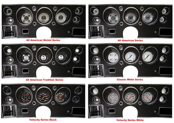 \u002770-72 Chevelle SS Package - Gauge Set