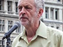 Jeremy Corbyn: Diplomacy over war.