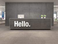 Hello Office Wall Decor 3D - Moonwallstickers.com