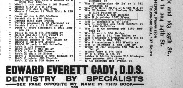1906 Brooklyn City Directory