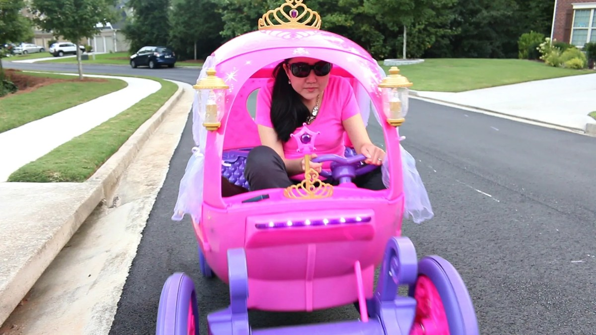 24V Disney Princess Carriage by Dynacraft: Just for Kids?