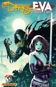 The Darkness Vs. Eva cover