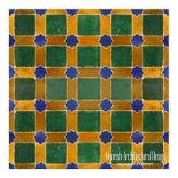 Moroccan Fireplace tile | Moorish Tile | Zellige